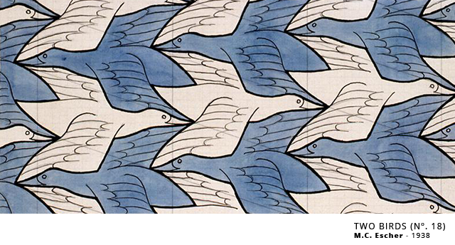 Tesselacoes_Escher_Two_Birds_B