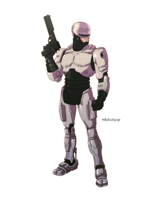 Anim80's #2: Robocop, por Michael Anderson