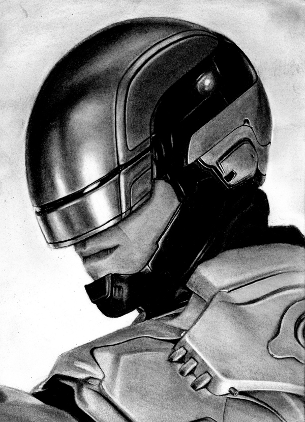 RoboCop (reboot) 2014, por Kreg Franco