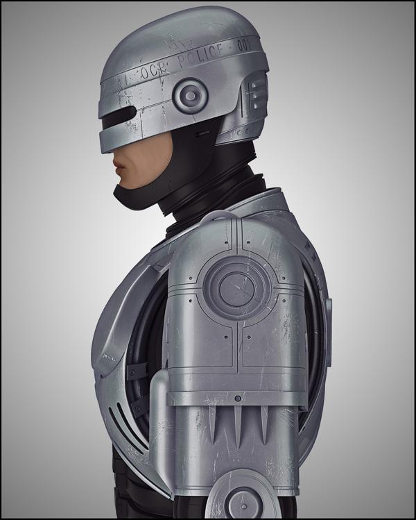 Robocop, por Michal Szymanski