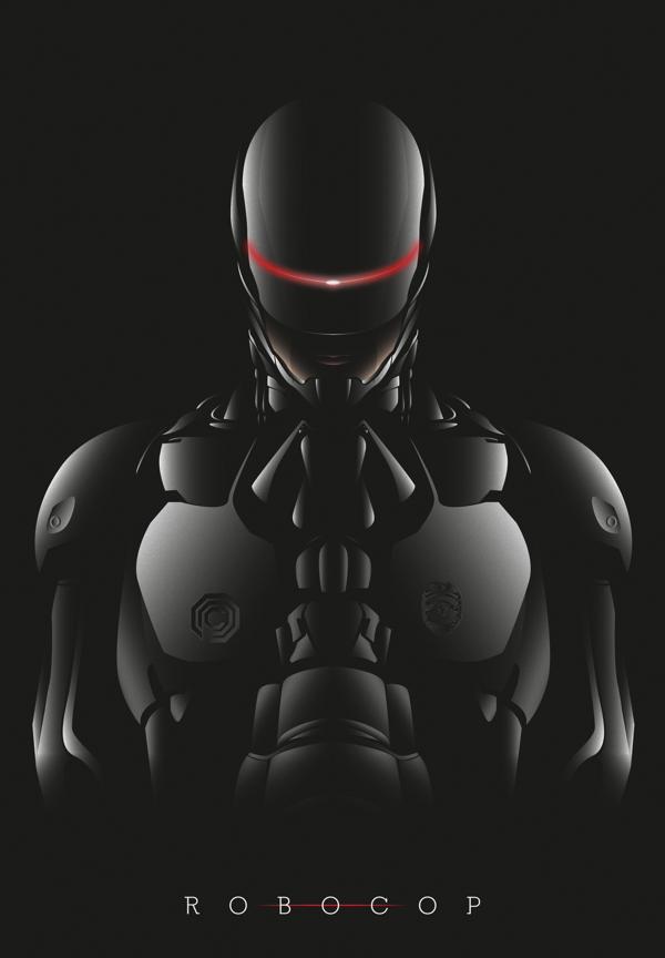 Robocop 2014, por Guillaume Heiligenstein