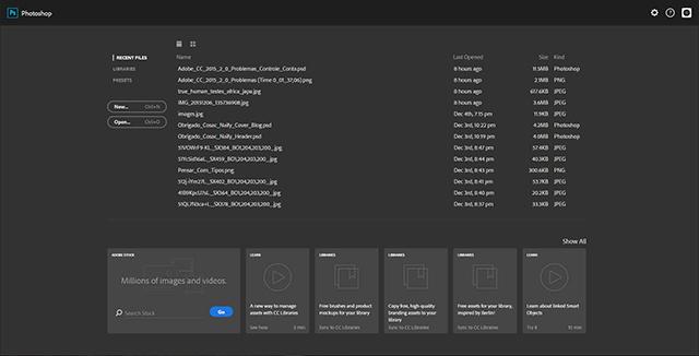 Adobe_CC_2015_2_0_Problemas_Start_Screen_Transcricao