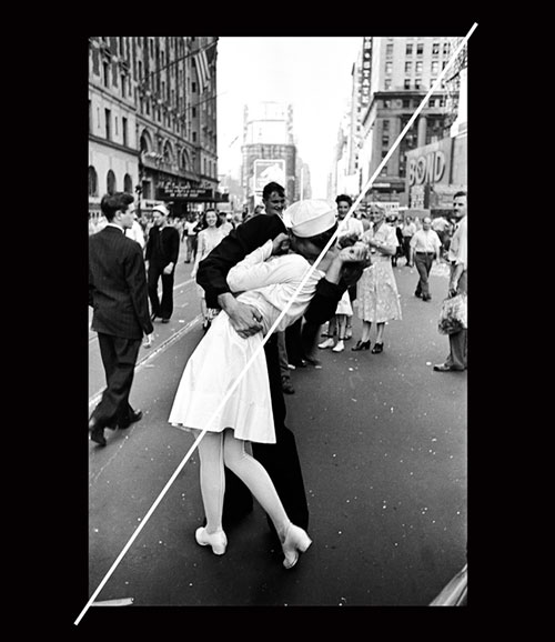 Alfred Eisenstaedt The Kiss, 1945